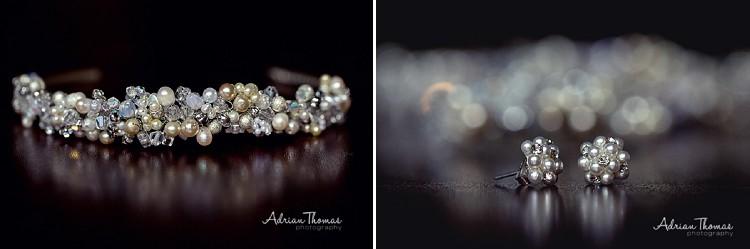 Jewellery at bridal preparations