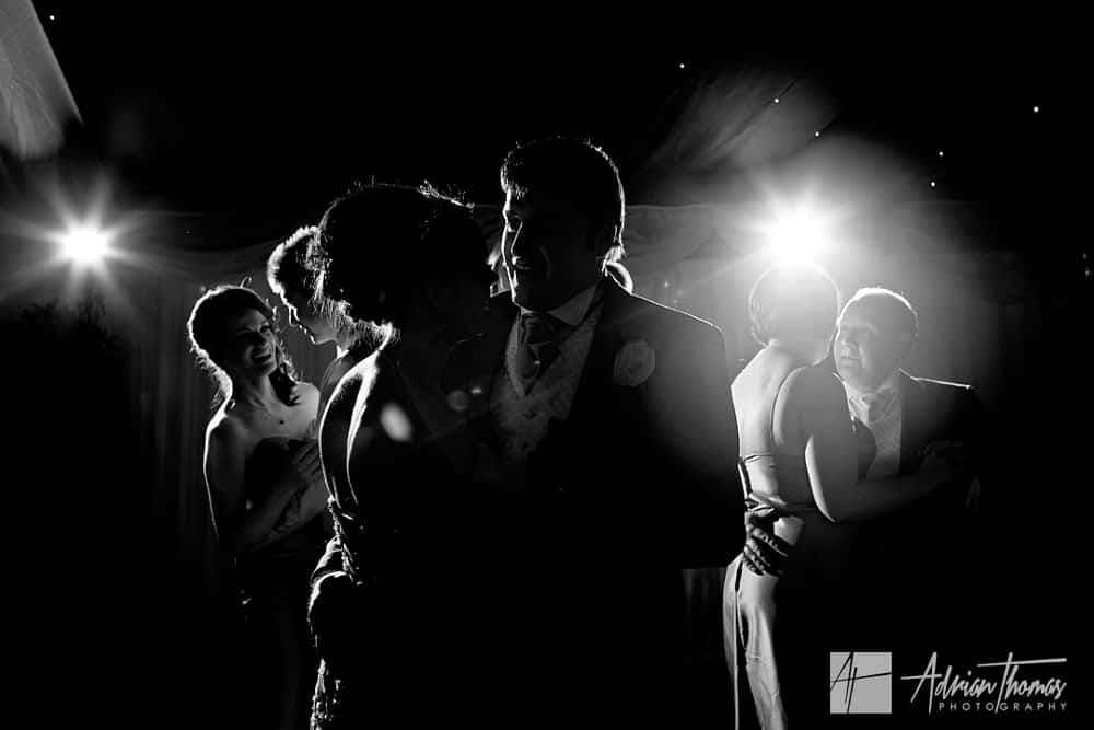Dancing at New House Hotel Wedding Marquee