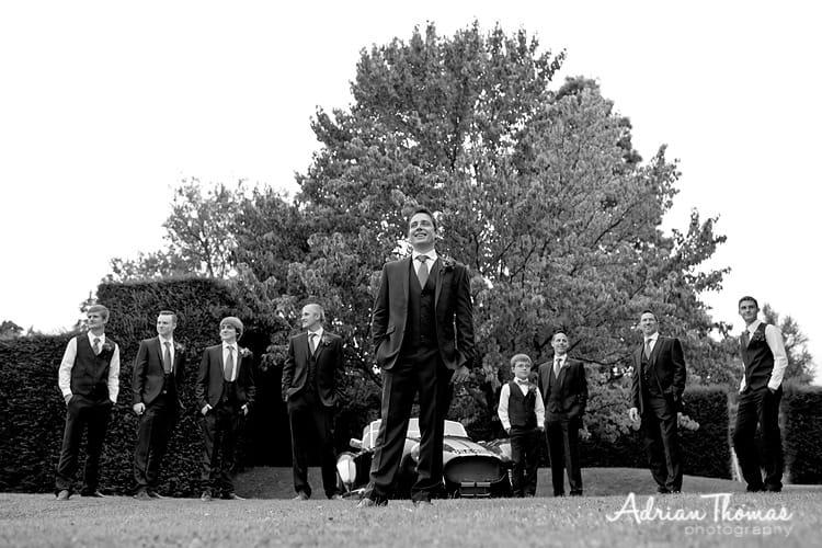 Dyffryn Gardens grooms men group