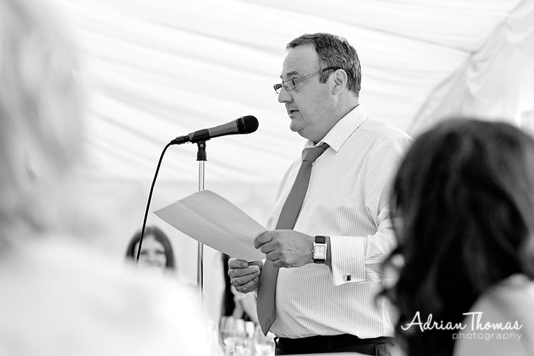brides dad speech