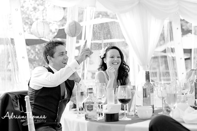 laughter at speeches