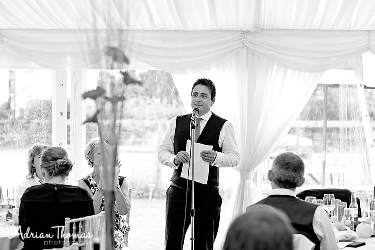 groom speech
