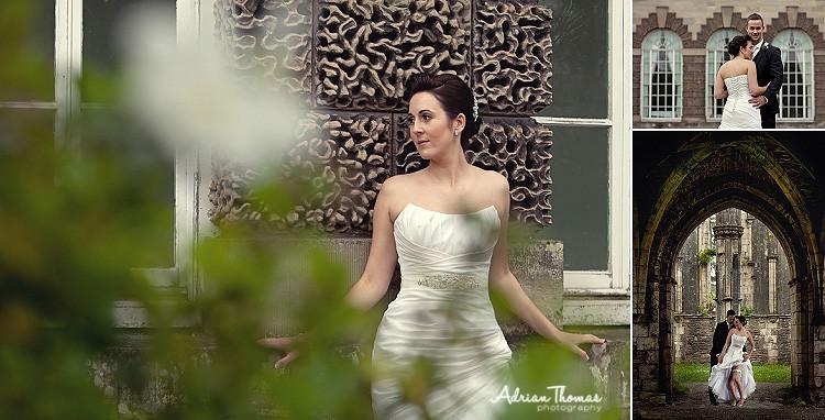 Beutiful bride at Orangery