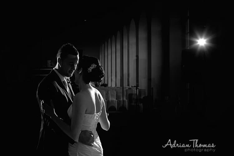 First dance at Margam Orangery Wedding