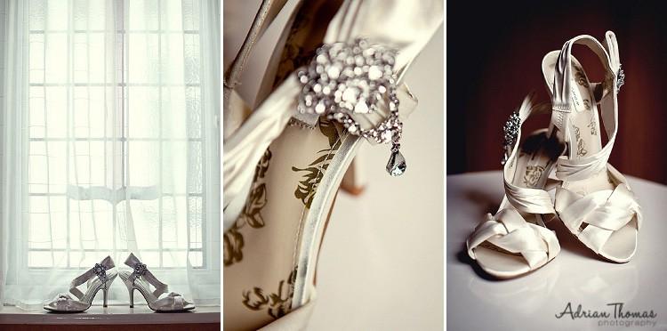 Photograph of Brides shoes
