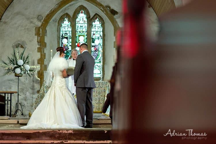 Service at Eglwysilan Church