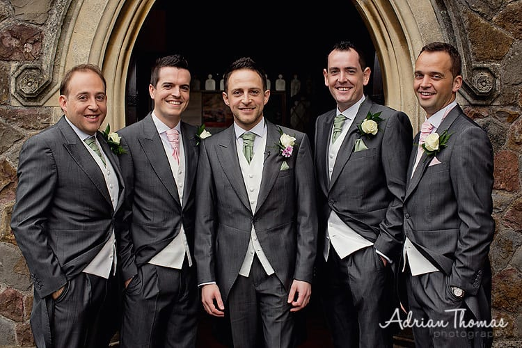 Groom and grooms men