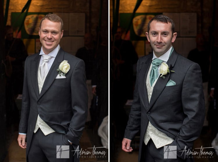 groom and bestman