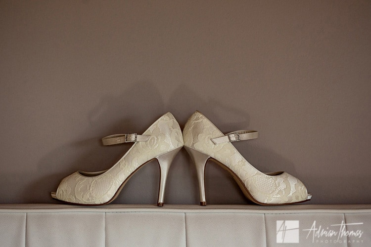Brides shoes.