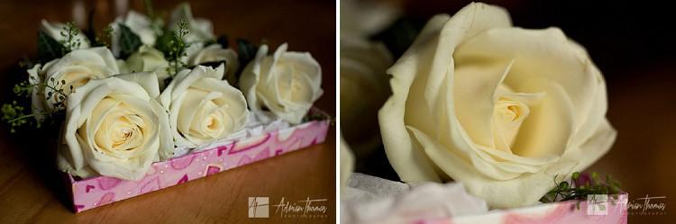 Groom buttonhole flowers.
