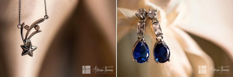 Brides jewellery.