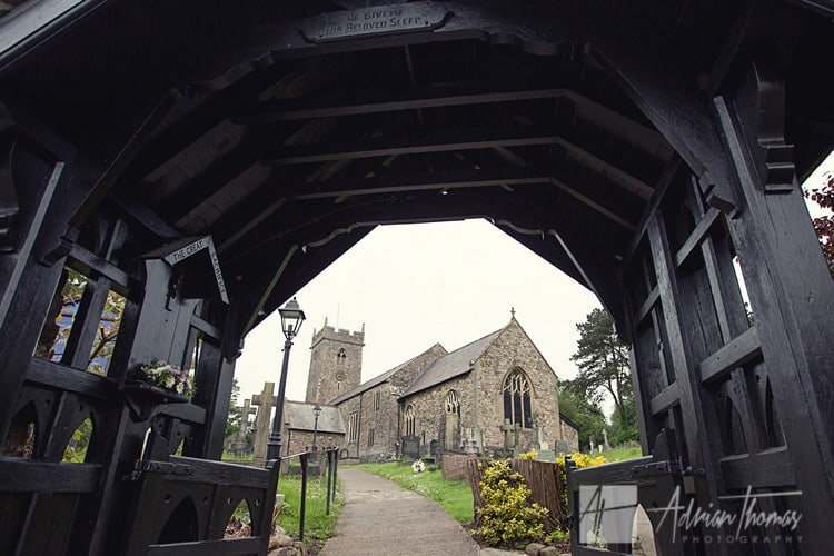 Image of St Augustines Church in Rumney.