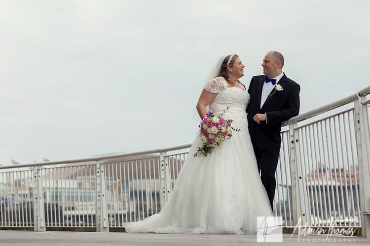 wedding at St Davids Hotel.