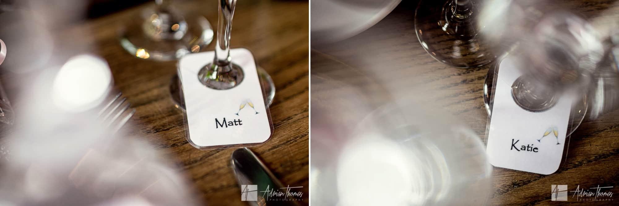 wedding table name tags.