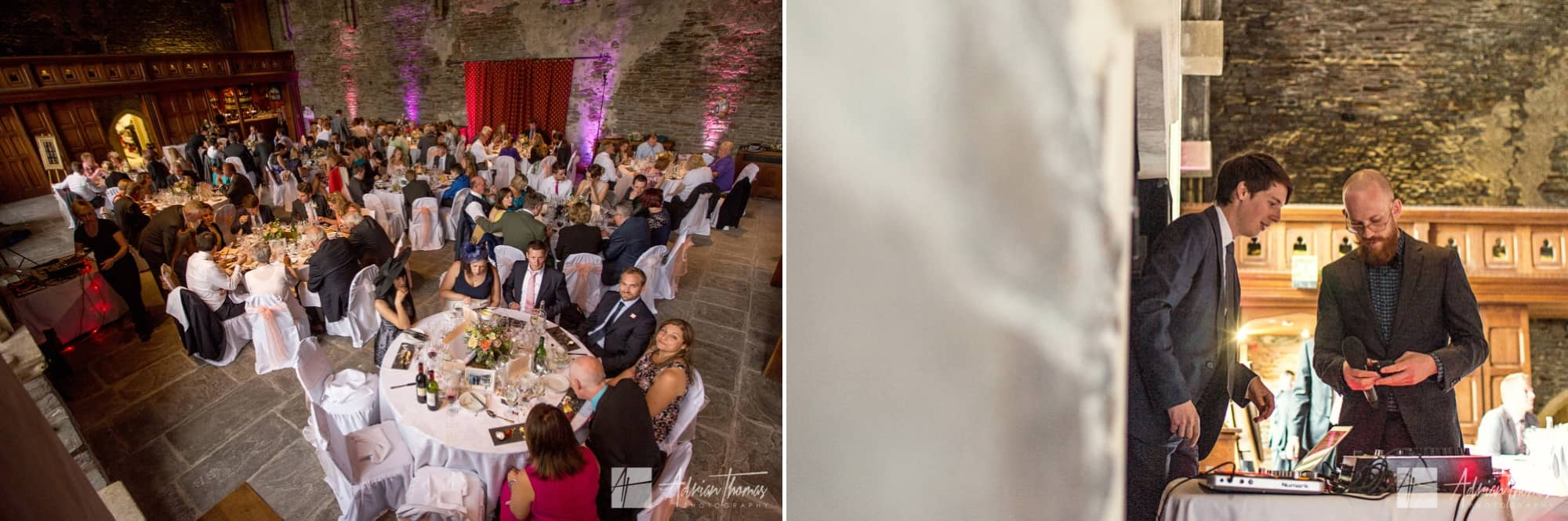 Castle wedding.