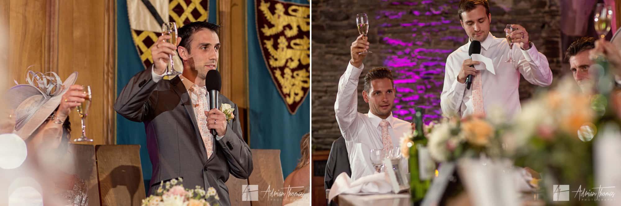 Wedding toast.