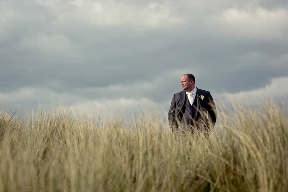 Groom Wedding Photographer in Burry Port