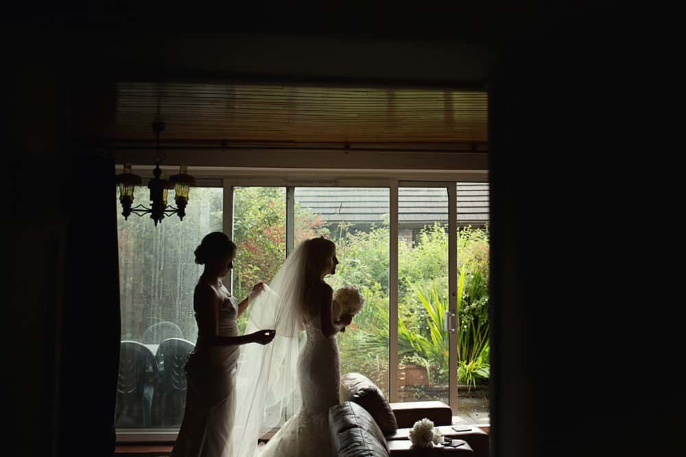 Image of bride shot by Wedding Photographer