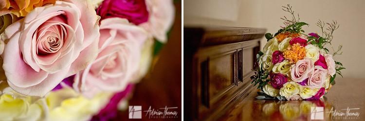 Brides flowers.