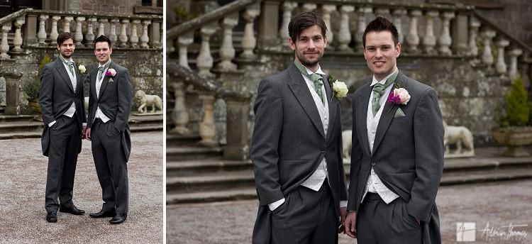Groom and wedding.
