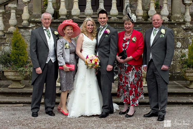 Bride and grooms family.