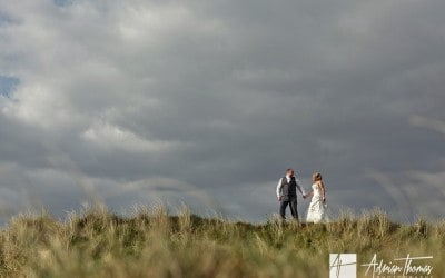 Llanelli Wedding and Burry Port Beach Photo's – Bethan & Gareth