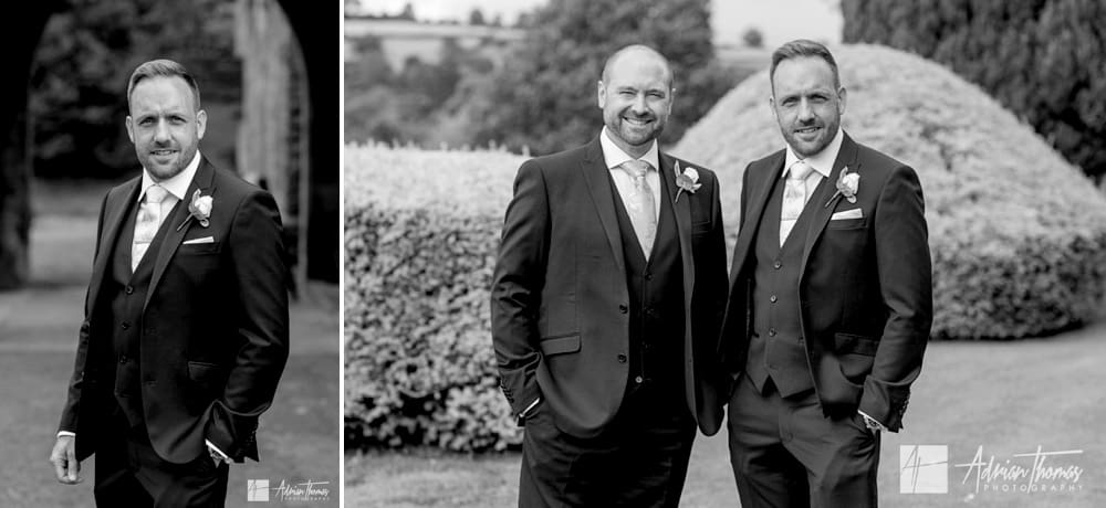 Groom and best man image