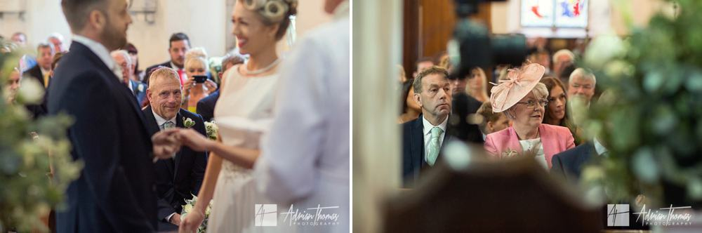 Wedding couple St Brynach Church in Llanfrynach Brecon