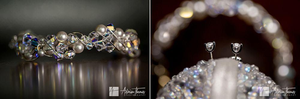 Brides wedding jewellery