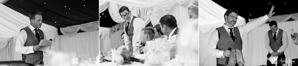 speeches from friends and bestman