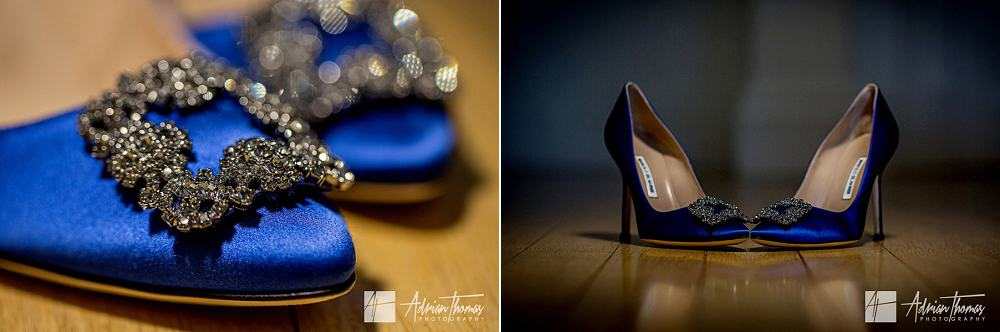 Gorgeous brides shoes for wedding