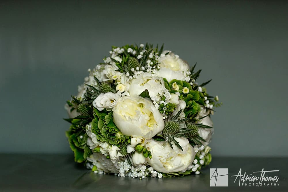 Brides bouquet for her wedding