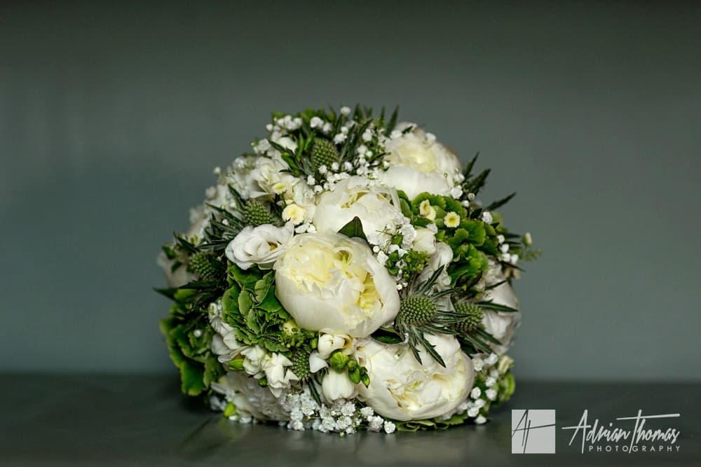 Brides bouquet for her wedding