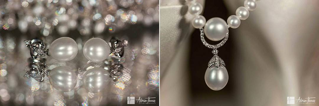 Brides earrings and necklace