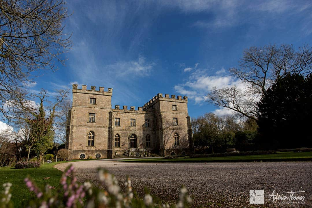 Image of Clearwell Castle in the sun